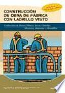 Libro de Construcción De Obra De Fábrica Con Ladrillo Visto