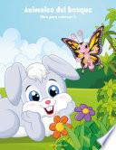 Libro de Animales Del Bosque Libro Para Colorear 2