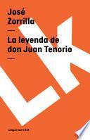 Libro de La Leyenda De Don Juan Tenorio