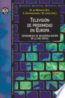 Libro de Televisión De Proximidad En Europa