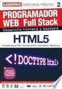 Libro de Programacion Web Full Stack 2   Html5