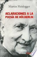 Libro de Aclaraciones A La Poesía De Hölderlin