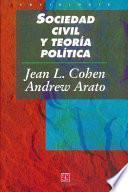 Libro de Sociedad Civil Y Teoría Política