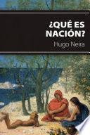 Libro de ¿qué Es Nación?