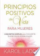 Libro de Principios Positivos De Vida Para Mujeres