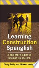 Libro de Learning Construction Spanglish