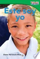 Libro de Este Soy Yo (this Is Me)