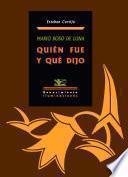 Libro de Mario Roso De Luna
