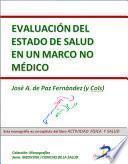 Libro de Evaluación Del Estado De Salud En Un Marco No Médico