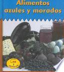 Libro de Alimentos Azules Y Morados