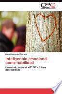 Libro de Inteligencia Emocional Como Habilidad