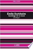 Libro de Émile Durkheim