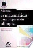 Libro de Manual De Matemáticas Para Preparación Olímpica