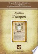 Libro de Apellido Frasquet