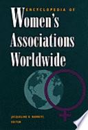 Libro de Encyclopedia Of Women S Associations Worldwide