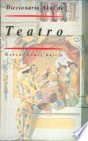 Libro de Diccionario Akal De Teatro