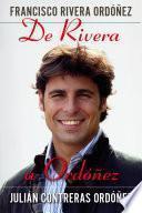 Libro de De Rivera A Ordóñez