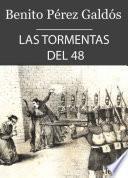 Libro de Las Tormentas Del 48 (episodios Nacionales Iv   1)