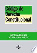 Libro de Código De Derecho Constitucional
