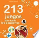 Libro de 213 Juegos Para Todas Las Ocasiones