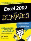Libro de Excel 2002 Para Dummies