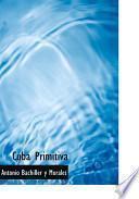 Libro de Cuba Primitiva