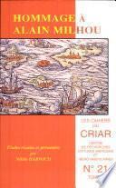 Libro de Hommage à Alain Milhou
