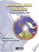 Libro de Micro, Pequeña, Mediana Y Gran Empresa. Censos Económicos 1999. Estratificación De Los Establecimientos