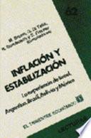 Libro de Inflación Y Estabilización