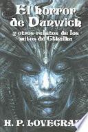 Libro de El Horror De Dunwich