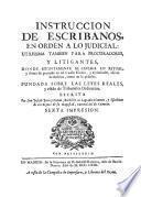 Libro de Examen Y Práctica De Escribanos