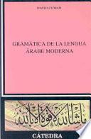 Libro de Gramática De La Lengua árabe Moderna