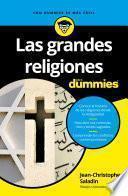 Libro de Las Grandes Religiones Para Dummies