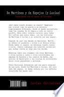 Libro de De Martines Y De Espejos (y Lucias)