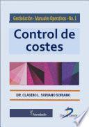 Libro de Control Del Costes