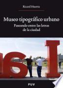 Libro de Museo Tipográfico Urbano