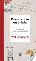 Libro de Piensa Como Un Artista