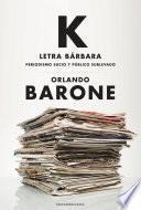 Libro de K Letra Bárbara