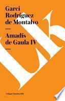 Libro de Amadís De Gaula Iv