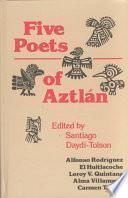 Libro de Five Poets Of Aztlán