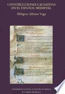 Libro de Construcciones Causativas Con Infinitivo En El Español Medieval