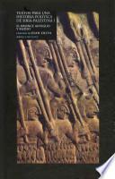 Libro de Textos Para Un Historia Política De Siria Palestina I