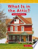 Libro de ¿qué Hay En El Desván? (what Is In The Attic?)