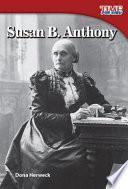 Libro de Susan B. Anthony (spanish Version)
