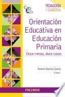 Libro de Orientación Educativa En Educación Primaria