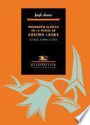 Libro de Tradición Clásica En La Poesía De Aurora Luque