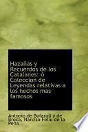 Libro de Hazanas Y Recuerdos De Los Catalanes