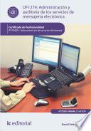 Libro de Administración Y Auditoría De Los Servicios De Mensajería Electrónica. Ifct0509