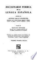 Libro de Diccionario Porrúa De La Lengua Española