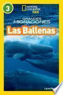 Libro de National Geographic Readers: Grandes Migraciones: Las Ballenas (great Migrations: Whales)